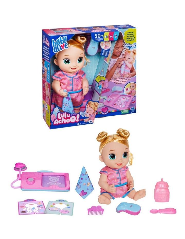 Baby Alive Lulu Achoo Doll - Blonde Hair image 3