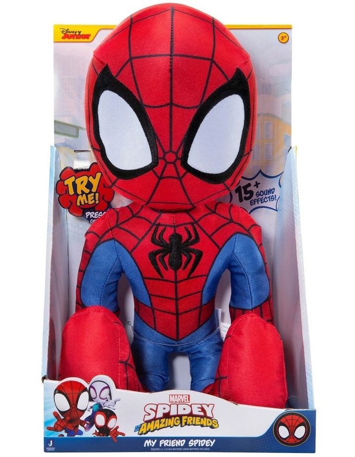 SNF Spidey Feature Plush image 1