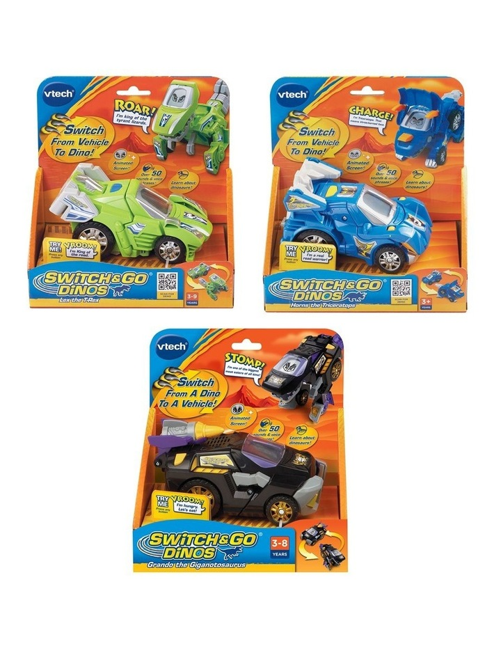 Switch & Go Dinos LCD Crew - Assorted image 1
