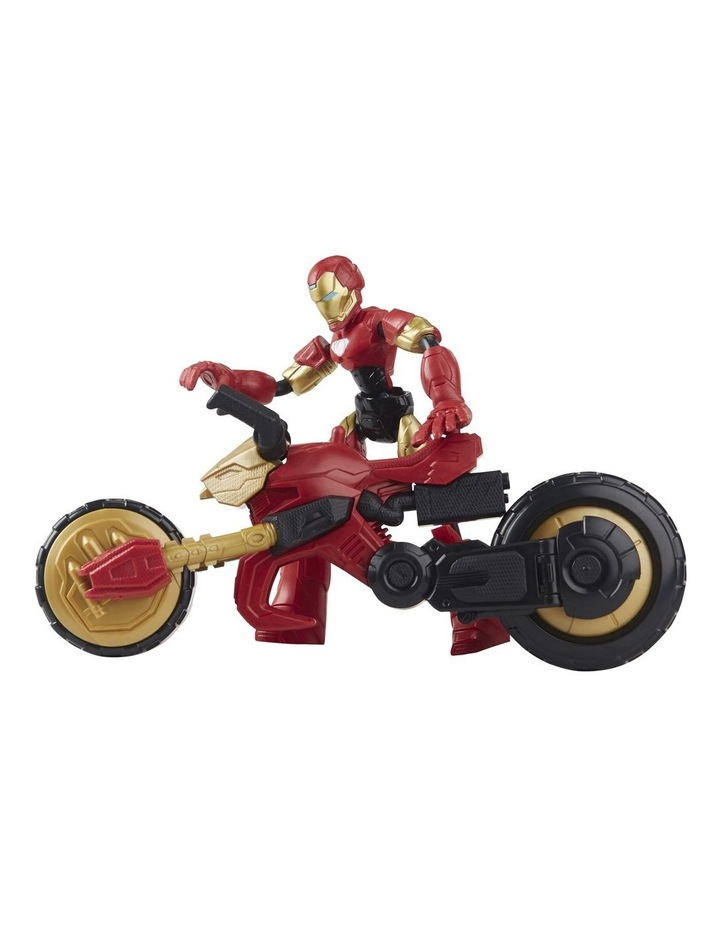 Bend And Flex, Flex Rider Iron Man And 2-In-1 Motorcycle image 2