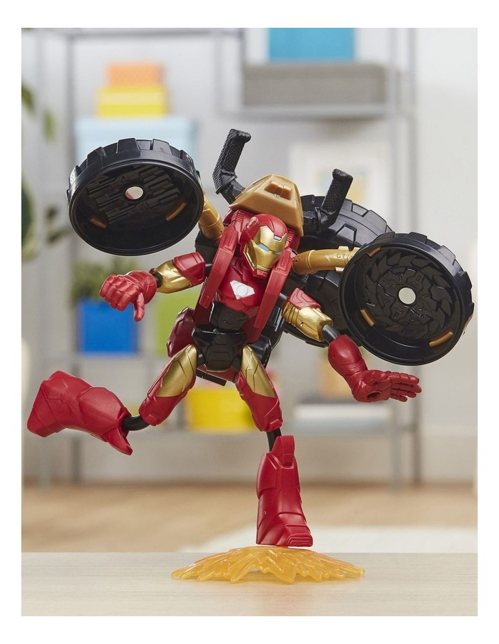 Bend And Flex, Flex Rider Iron Man And 2-In-1 Motorcycle image 3
