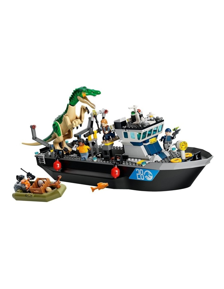 Jurassic World Baryonyx Dinosaur Boat image 2