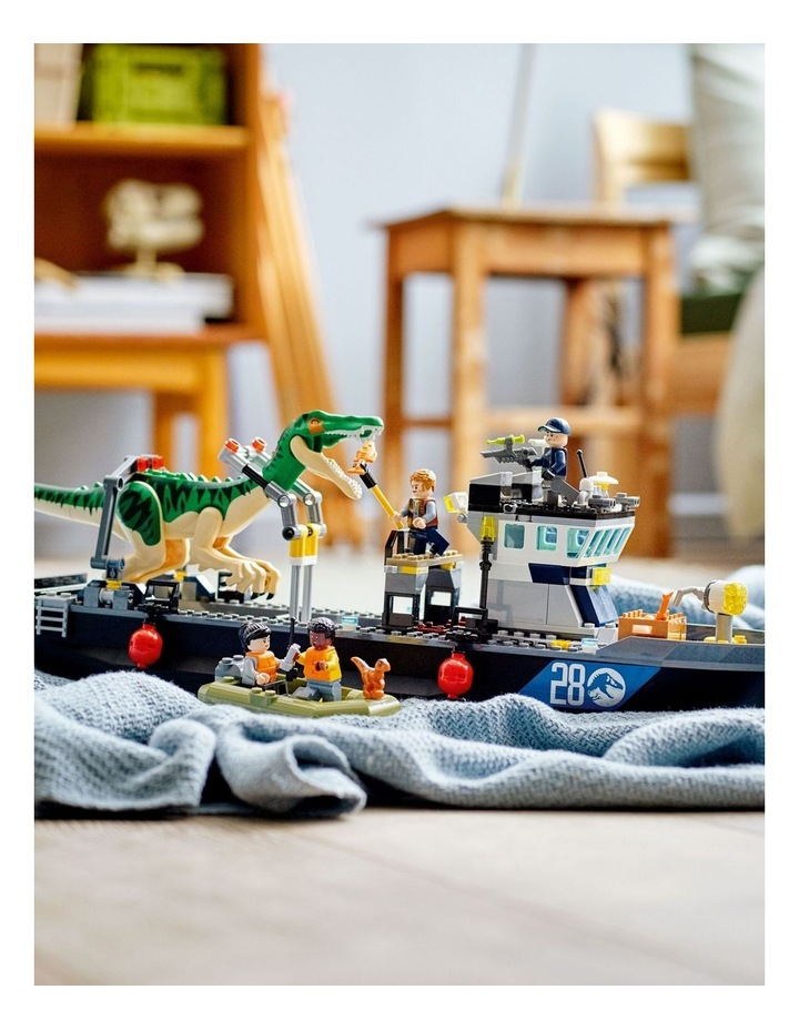 Jurassic World Baryonyx Dinosaur Boat image 5