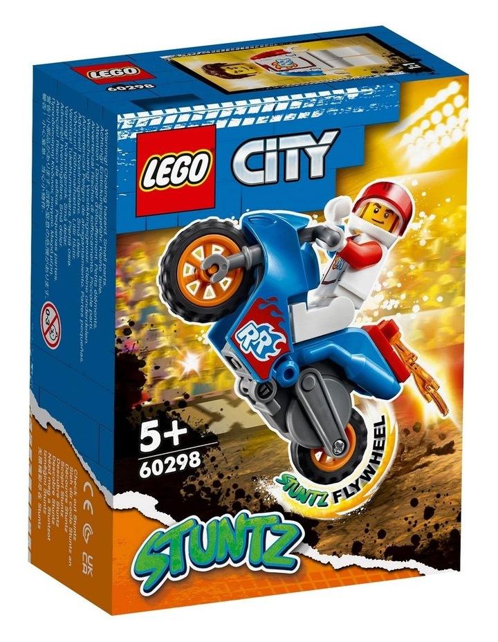 City Rocket Stunt Bike 60298 image 1
