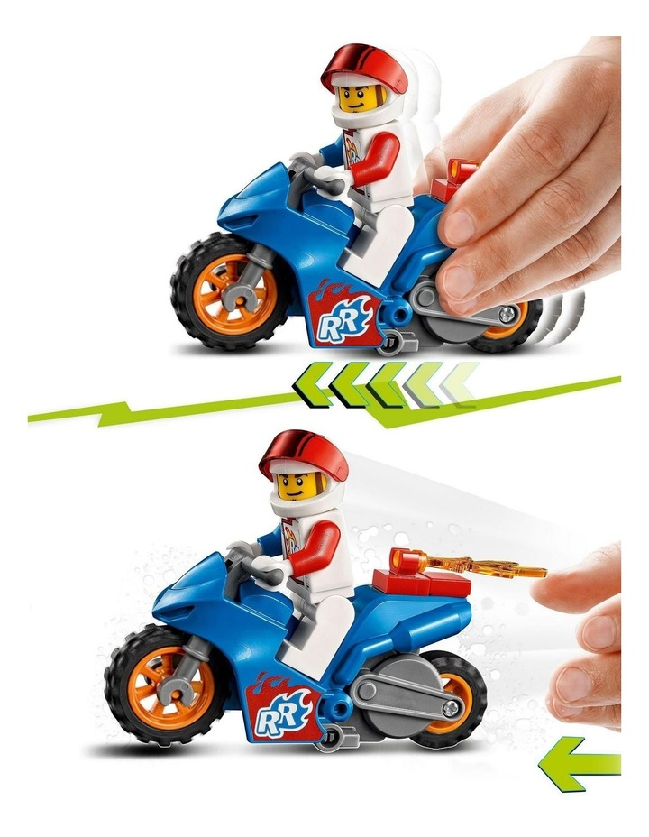 City Rocket Stunt Bike 60298 image 6