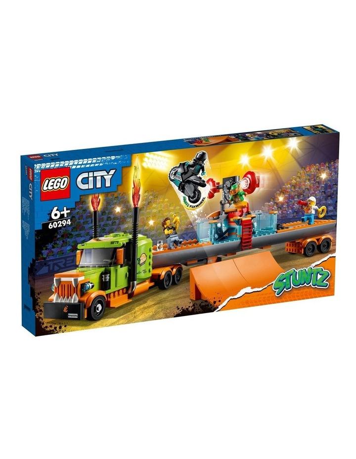 City Stunt Show Truck 60294 image 1