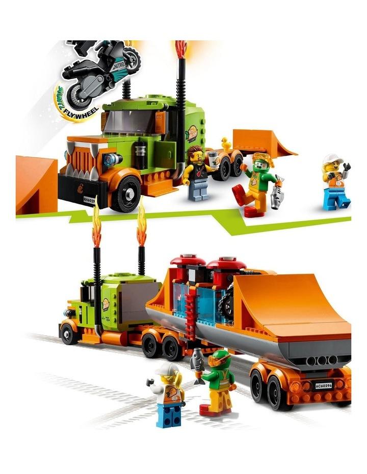 City Stunt Show Truck 60294 image 6