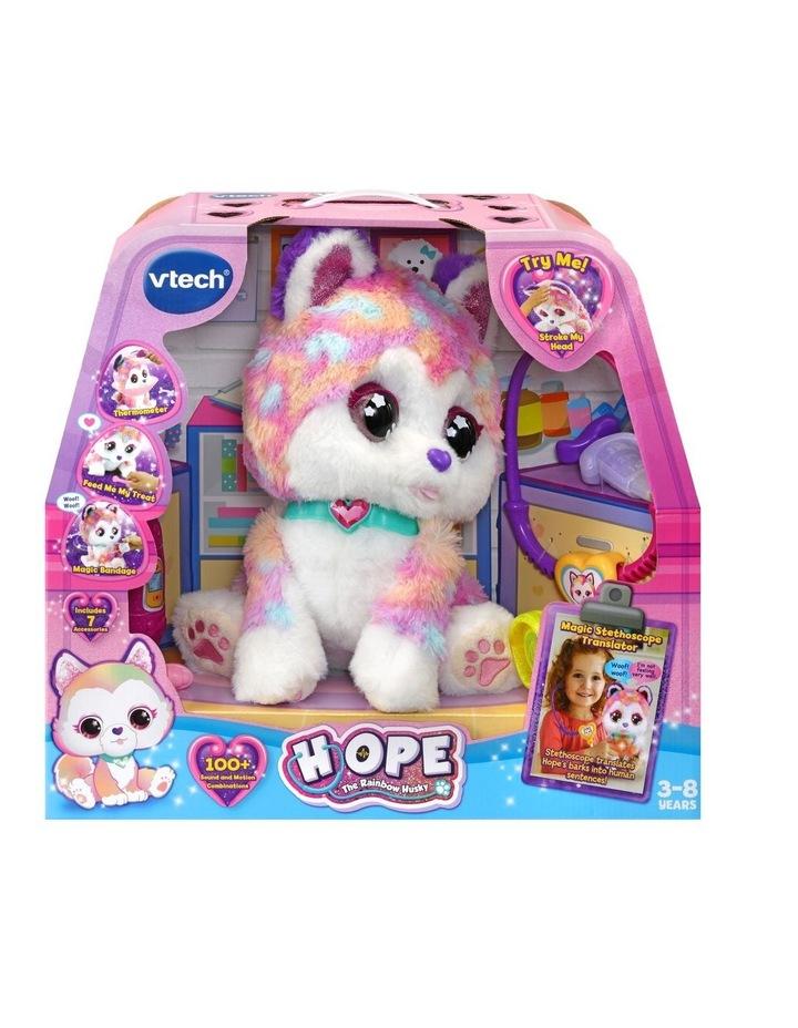 Hope The Rainbow Husky Toy image 1