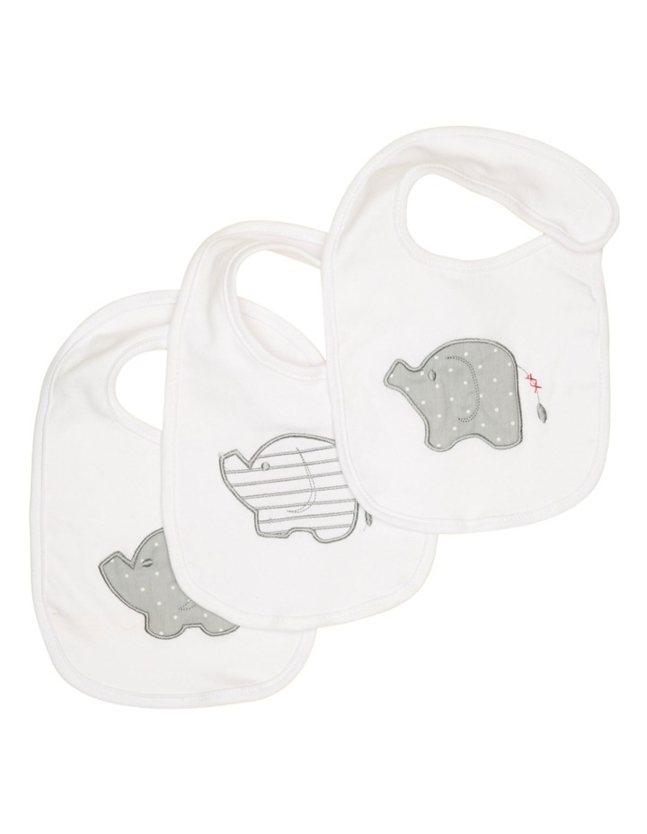 Elephant Bib Gift Box 3PK image 3