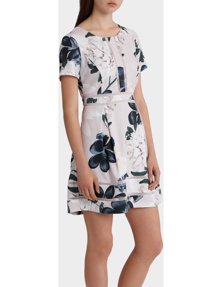 Printed Insert Tea Dress image 2