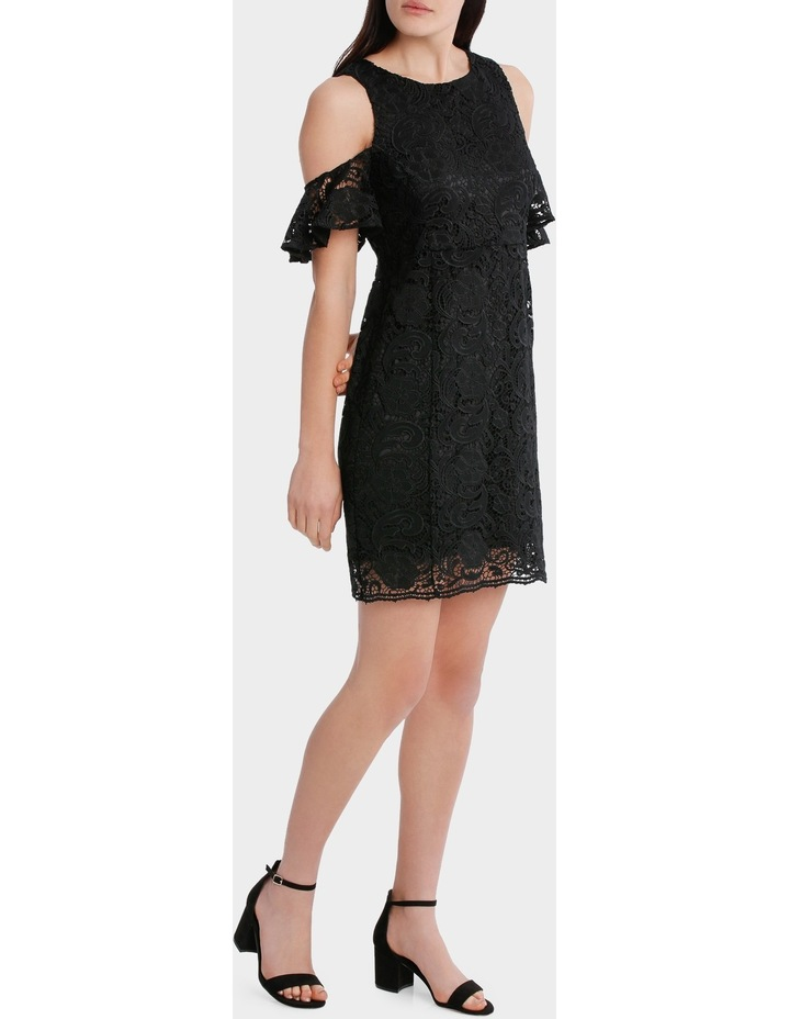 Lace Cold Shoulder Dress image 1