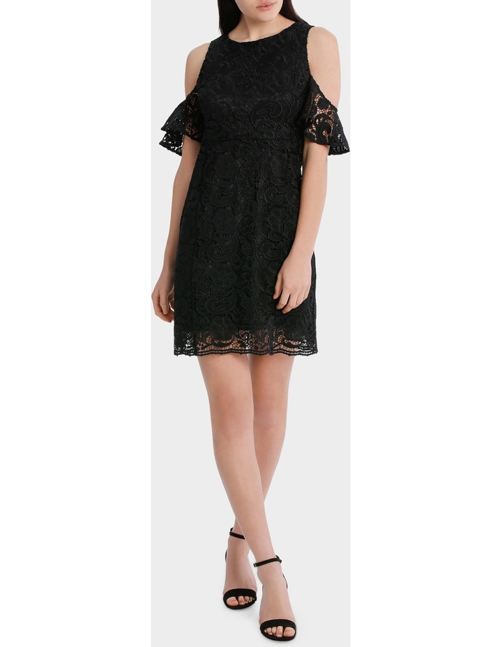 Lace Cold Shoulder Dress image 2