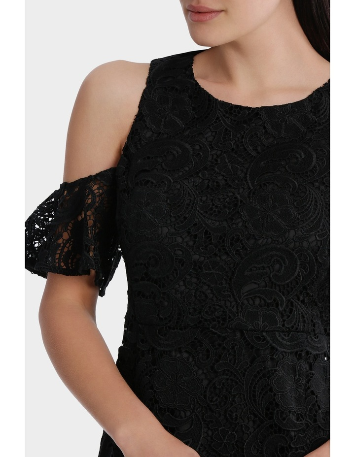 Lace Cold Shoulder Dress image 4
