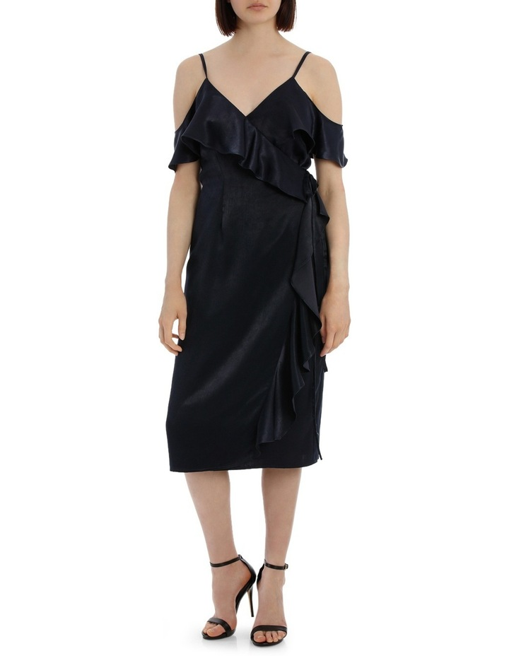 Wrap Cold Shoulder Dress image 1