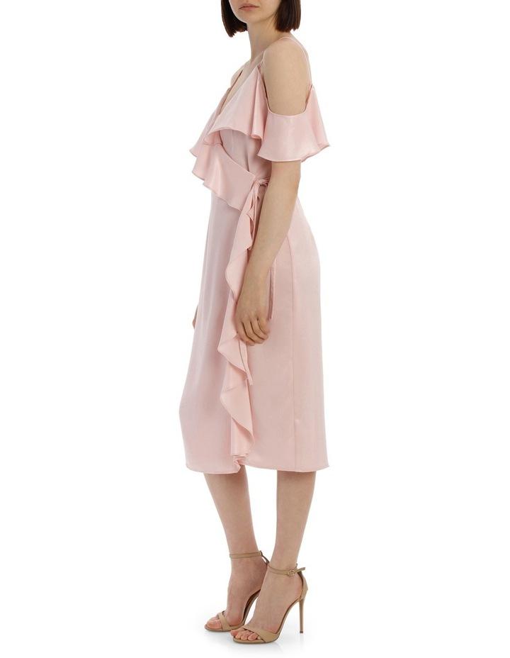 Wrap Cold Shoulder Dress image 2