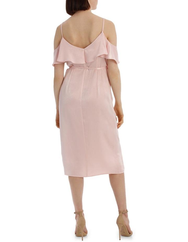 Wrap Cold Shoulder Dress image 3