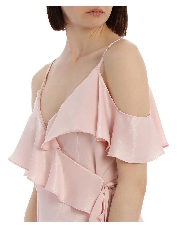 Wrap Cold Shoulder Dress image 4