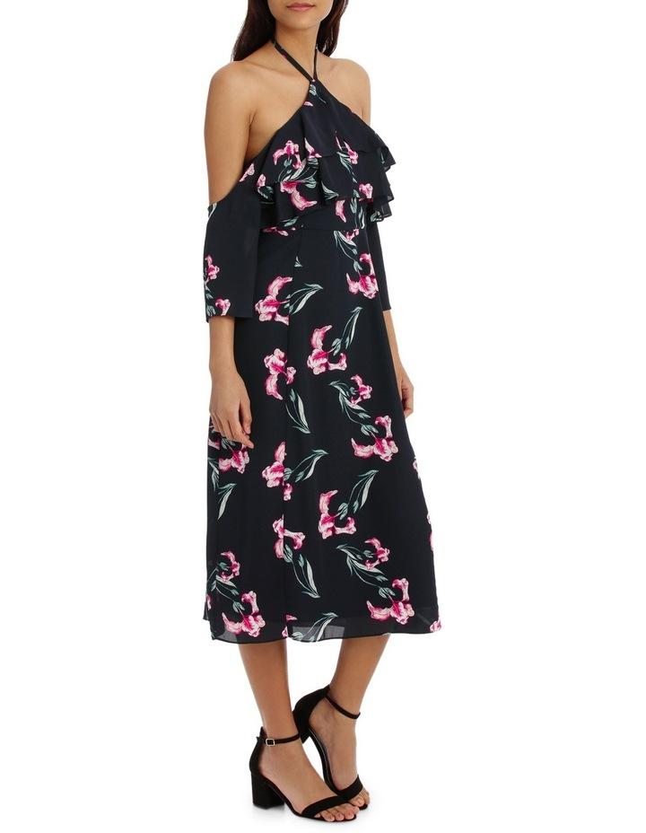 Halter Printed Maxi Dress image 2