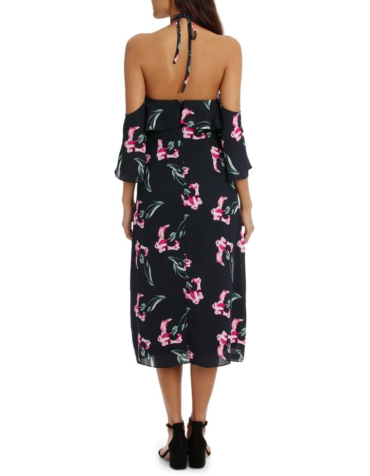 Halter Printed Maxi Dress image 3