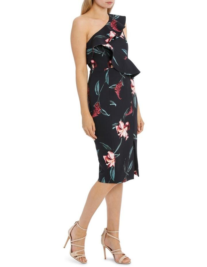 One Shoulder Ruffle Bodice Dress image 2