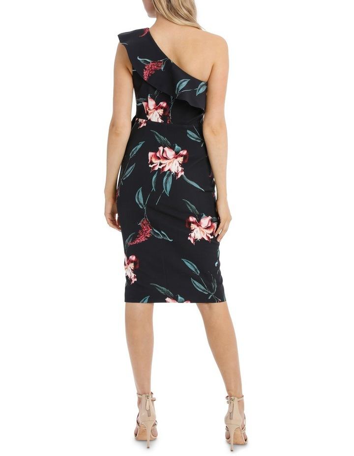 One Shoulder Ruffle Bodice Dress image 3