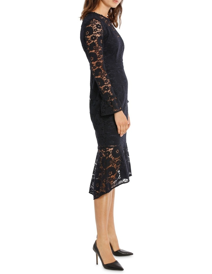 Lace Long Sleeve Midi Dress image 2