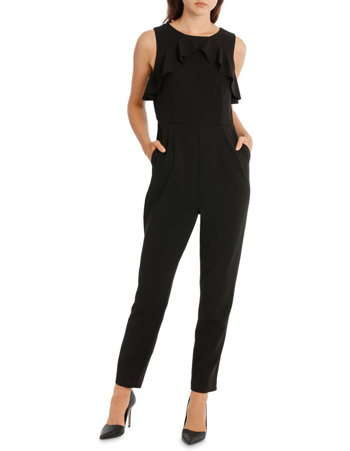 d241433189f NEW Tokito Collection Ruffle Jumpsuit Black