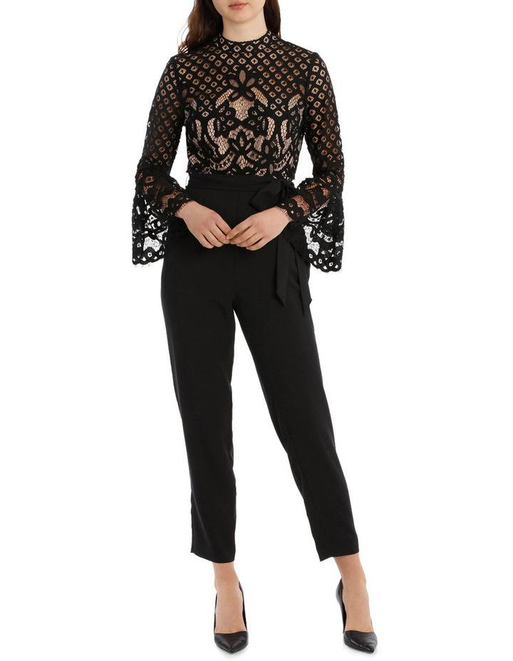 High Neck Lace Jumpsuit image 1