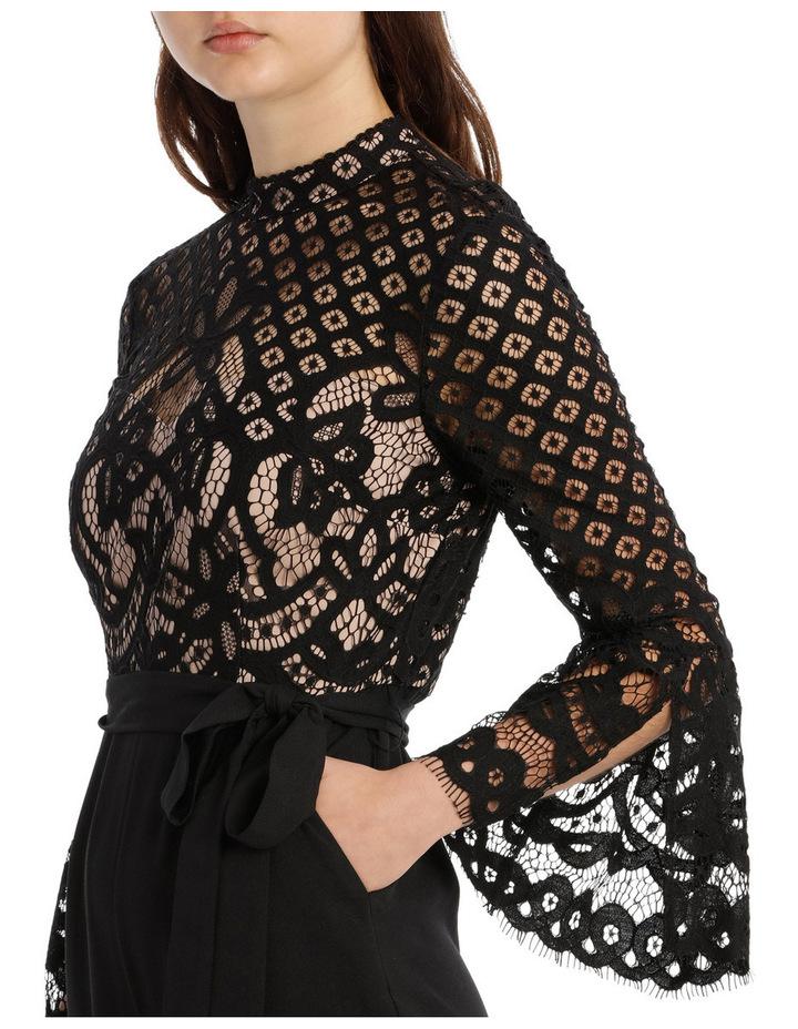 High Neck Lace Jumpsuit image 4