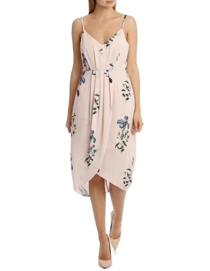 Tullip Skirt Print Dress - Falling Floral image 1