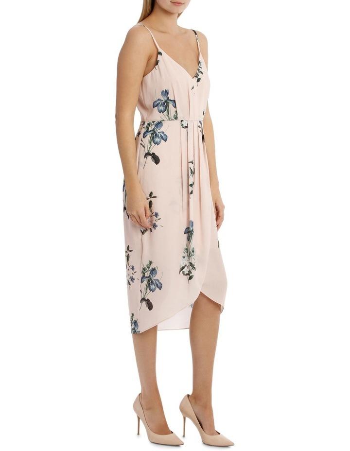 Tullip Skirt Print Dress - Falling Floral image 2