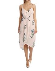 Tokito Collection - Tullip Skirt Print Dress - Falling Floral