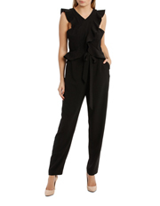 Tokito Collection - Cross Over Bodices Jumpsuit