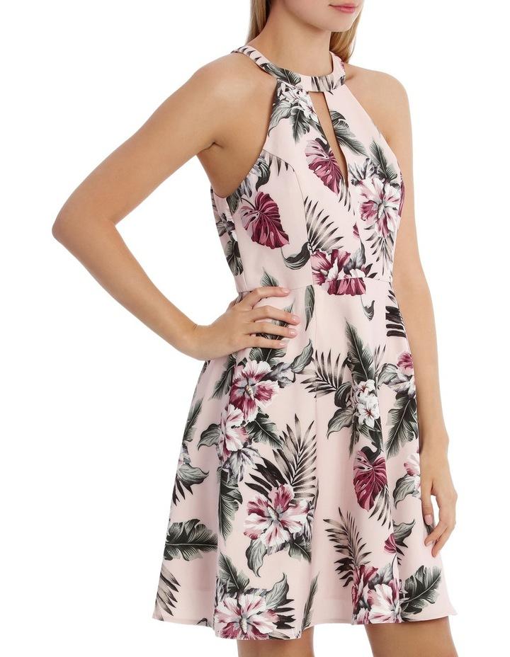 Tropical Print Skater Dress image 2