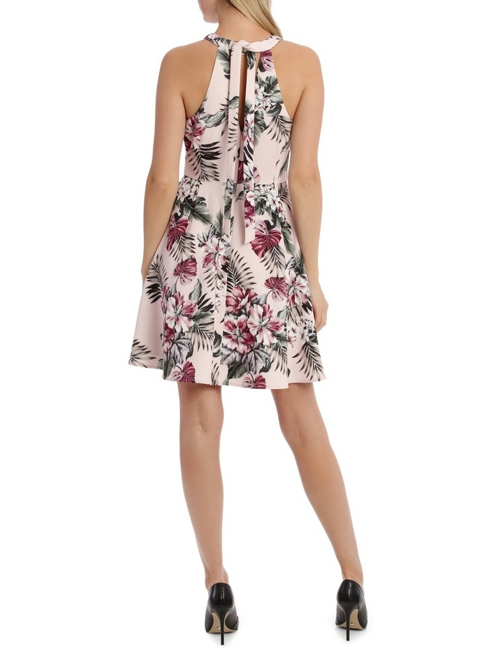 Tropical Print Skater Dress image 3