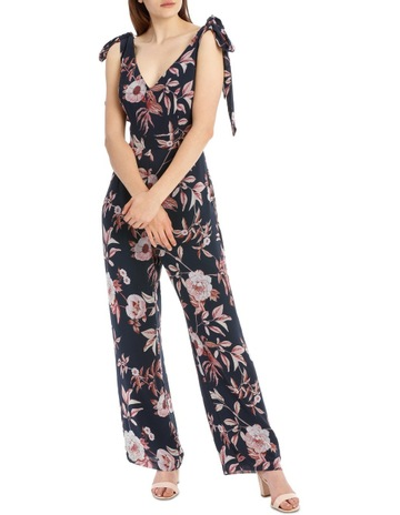d87261694384 Tokito CollectionTie Shoulder Wide Leg Jumpsuit. Tokito Collection Tie  Shoulder Wide Leg Jumpsuit