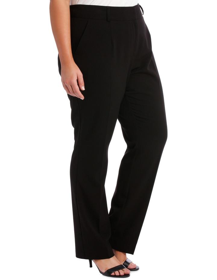 abi straight leg pant - black image 2