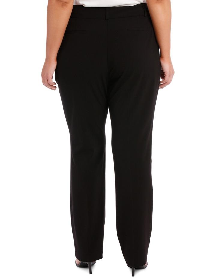 abi straight leg pant - black image 3
