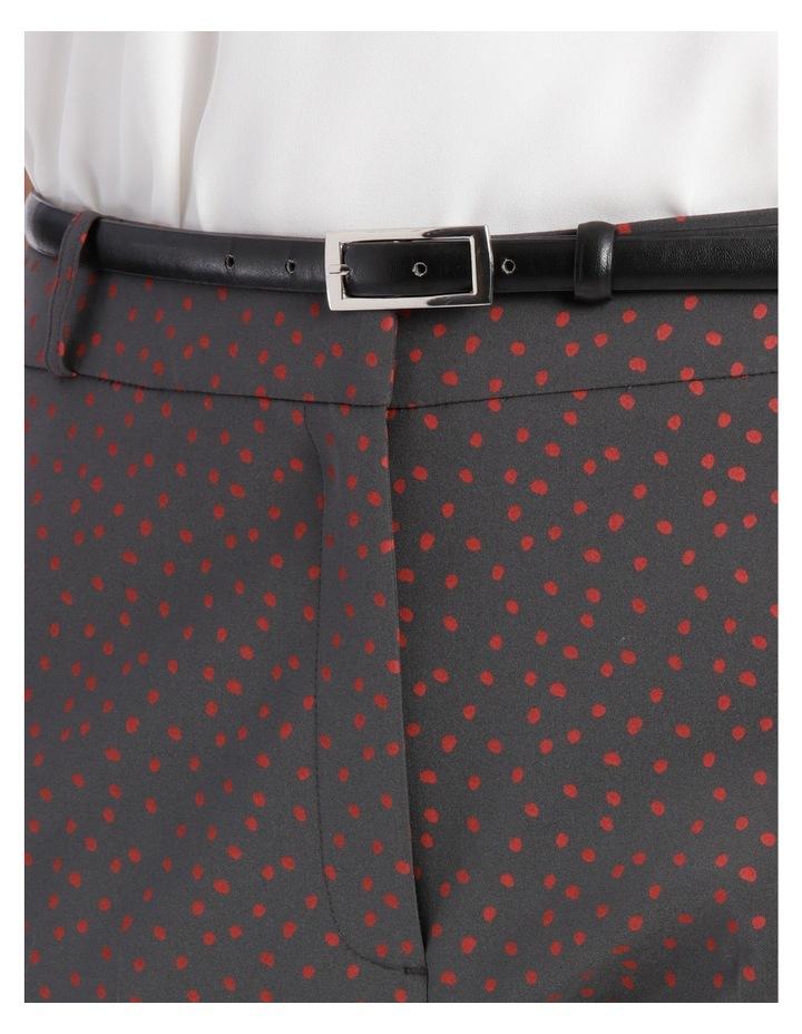 Chloe Belted Smart Pant - Scatter Dot image 4