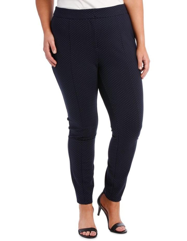 bonnie skinny pants - navy/white image 1