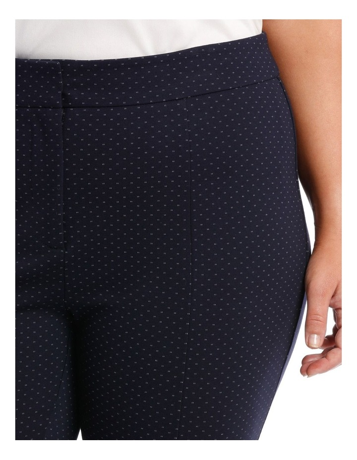 bonnie skinny pants - navy/white image 3