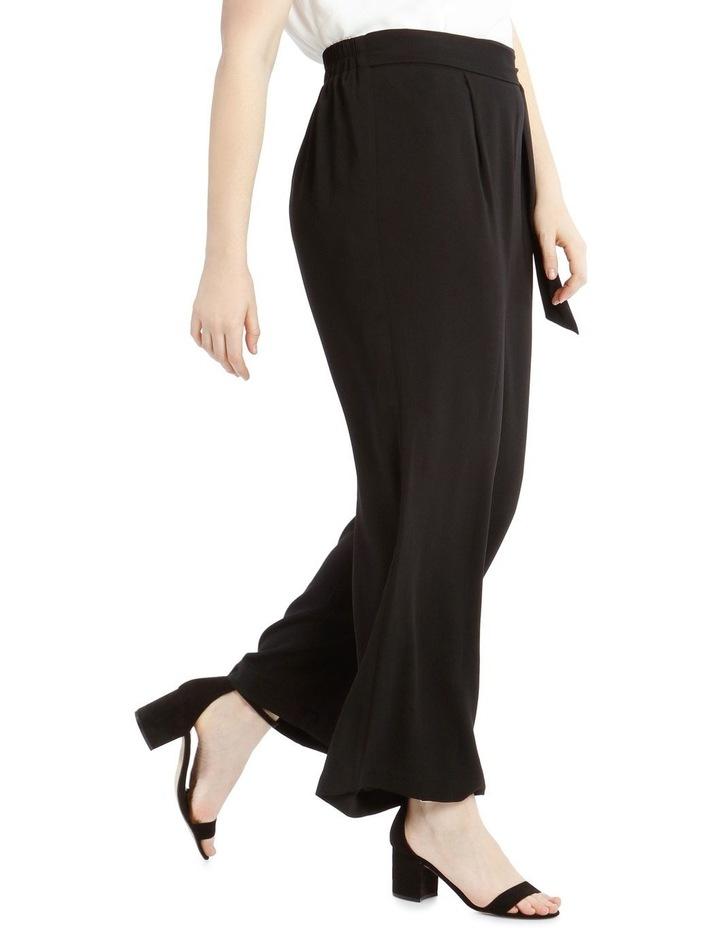 Wide Leg Tie Waist Pant image 2