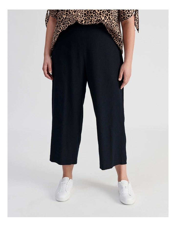 Curve Wide Leg Linen Culottes image 1