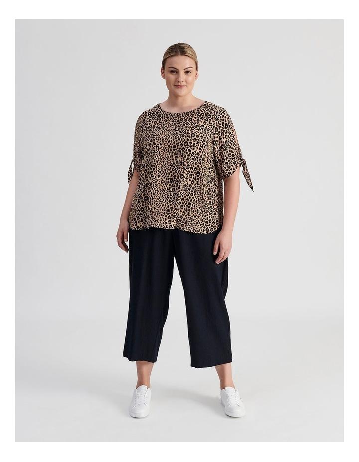 Curve Wide Leg Linen Culottes image 2