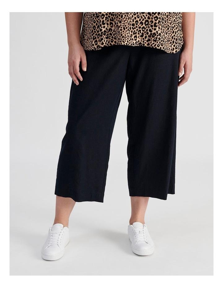 Curve Wide Leg Linen Culottes image 3