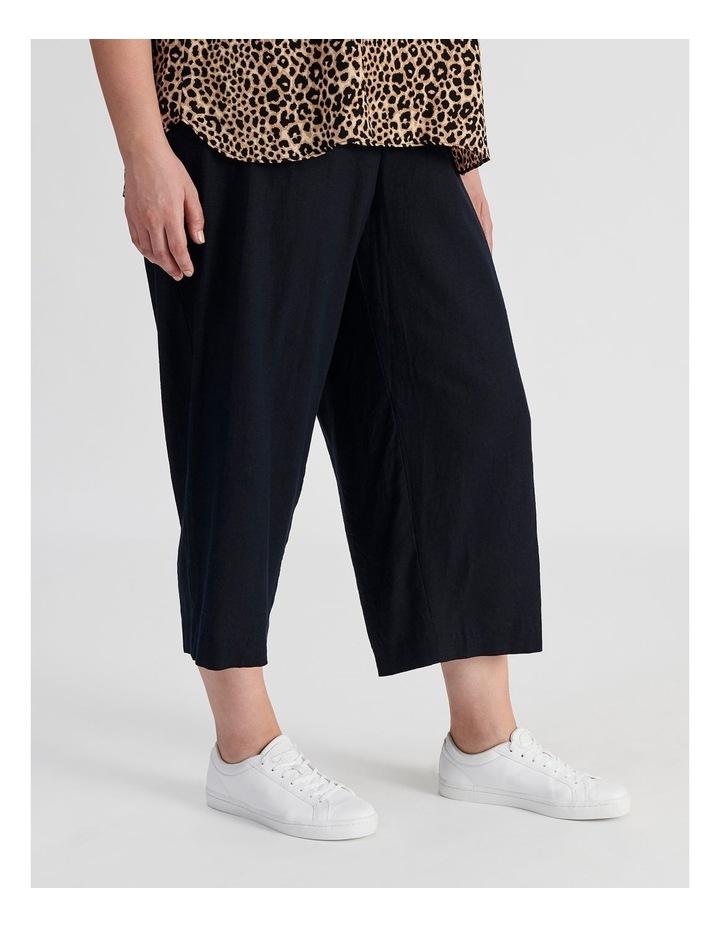 Curve Wide Leg Linen Culottes image 4