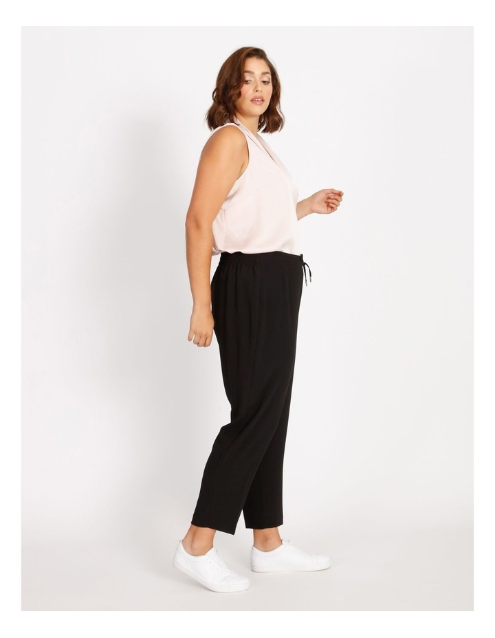 Curve Crepe Relaxed  Jogger Pants image 2