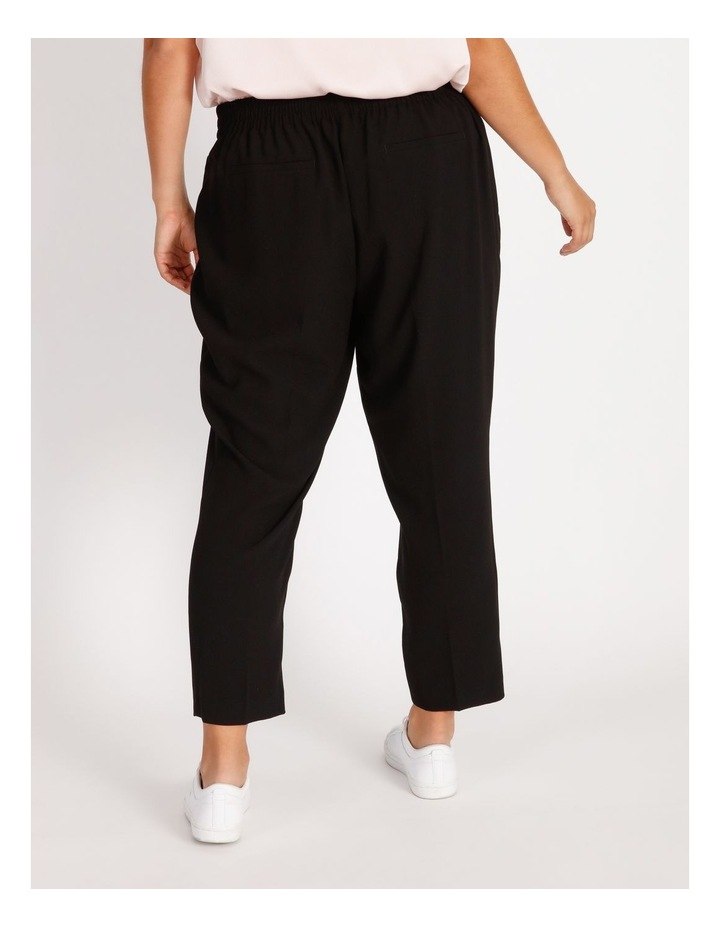 Curve Crepe Relaxed  Jogger Pants image 3