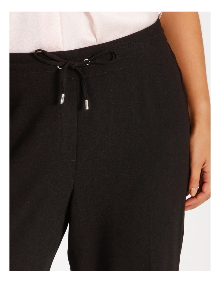 Curve Crepe Relaxed  Jogger Pants image 4