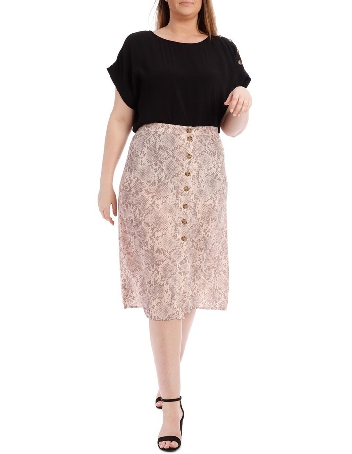 Button Front Skirt image 1